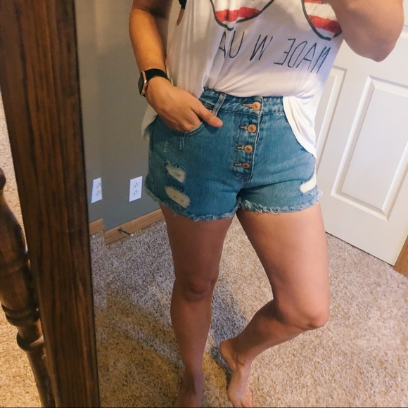Forever 21 Pants - Forever 21 High Waisted Shorts